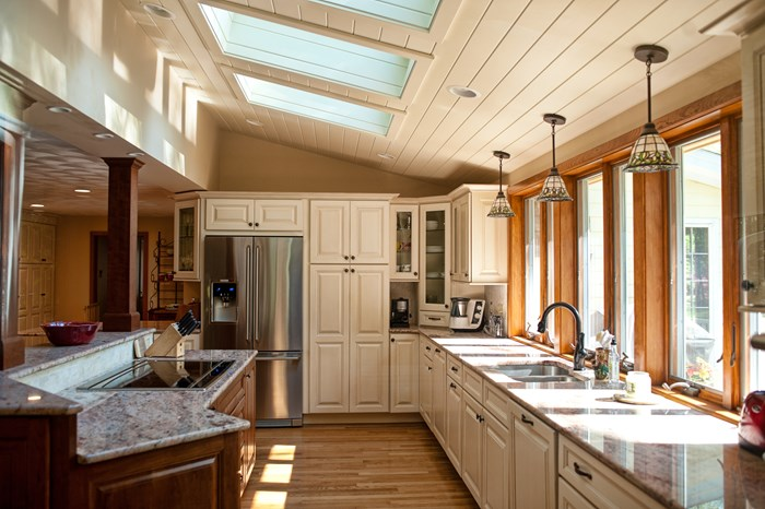 Click On The Thumbnails Below To See The Fabulous New Kitchen!